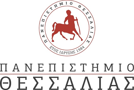 UTH logo text greek
