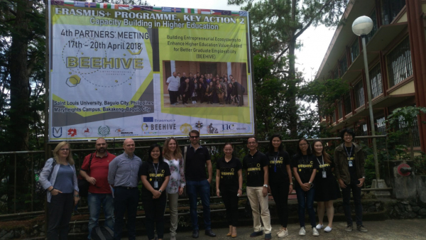 """4th PARTNERS' Meeting of Beehive Erasmus+ project"" (17-22/4/2018)"